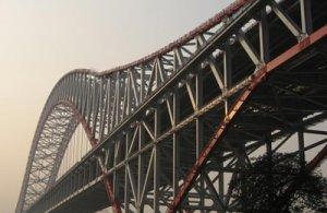 Structure steel girder truss