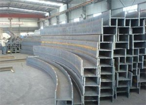 H Steel bending product