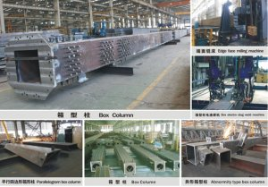 Steel structure box column