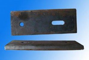 Adjustable crane track clamping plate