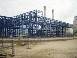 power plants project location and scope of works