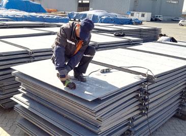 CCS A grade shipbuilding steel plate