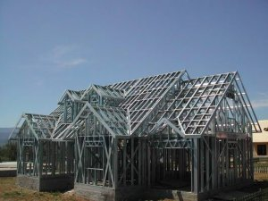 ST44-2 Carbon steel structure Houses