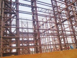 Hot sell steel support structure in China