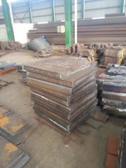 S355J2 Carbon Steel Plate Laser Cutting Service