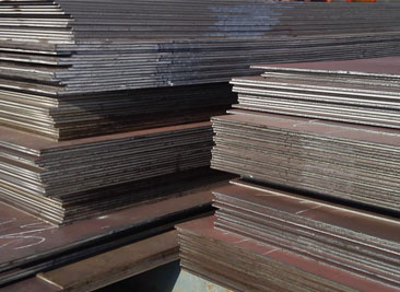 ASTM-A283 Grade C are Normally Used at Tank Shell
