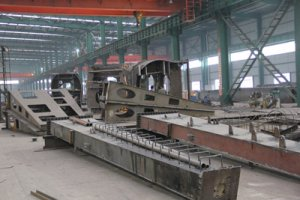 Crane stand beam, supporting beam, crane leg